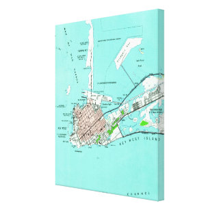 photo about Printable Map of Key West called Florida Keys Map Posters Picture Prints Zazzle