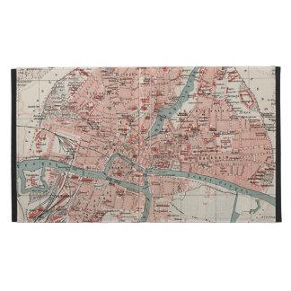 Vintage Map of Königsberg Germany (1905) iPad Case