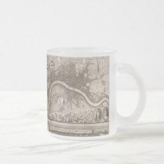 Vintage Map of London (1693) Coffee Mug