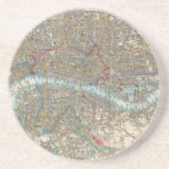 "Vintage Map of London (1848) Coaster<br><div class=""desc"">This is a vintage map of London England produced in 1848.</div>"