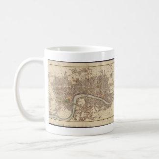 Vintage Map of London England (1807) Coffee Mug