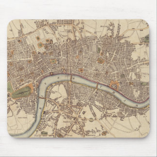 Vintage Map of London England (1807) Mouse Pad