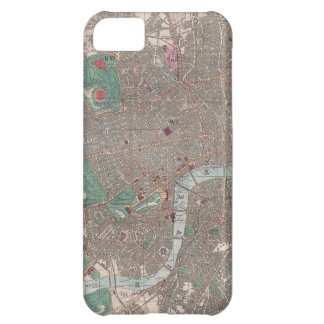 Vintage Map of London England (1862) Cover For iPhone 5C