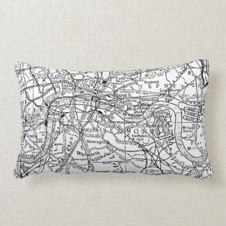 Vintage Map of London England (1911) Pillows