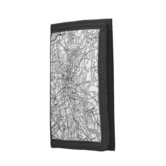 Vintage Map of London England (1911) Trifold Wallet