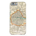 Vintage Map of LONDON ENGLAND iPhone 6 case
