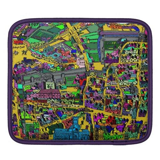 Vintage map of London iPad Sleeve