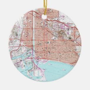 Long Beach California Map Gifts on Zazzle