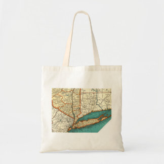 Vintage Map of LONG ISLAND & MANHATTAN NYC Bag