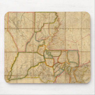 Vintage Map of Louisiana (1816) Mouse Pad