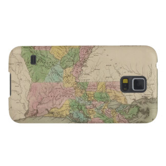 Vintage Map of Louisiana (1838) Cases For Galaxy S5