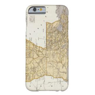 Vintage Map of Louisiana (1845) iPhone 6 Case