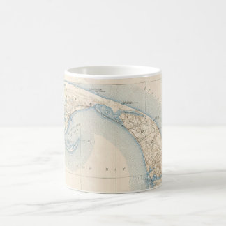 Vintage Map of Lower Cape Cod Mugs