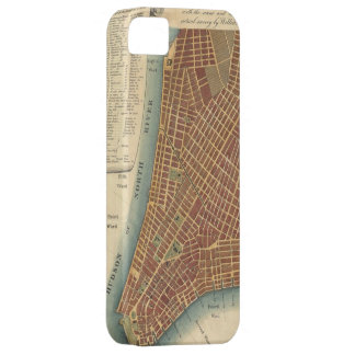 Vintage Map of Lower New York City (1807) iPhone SE/5/5s Case