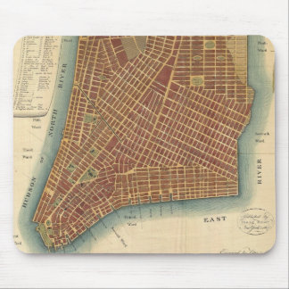 Vintage Map of Lower New York City (1807) Mouse Pads