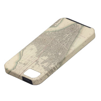 Vintage Map of Lower New York City (1840) iPhone SE/5/5s Case