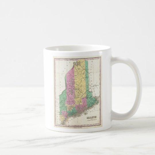 Vintage Map of Maine (1827) Coffee Mug