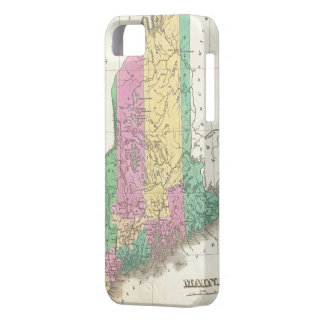 Vintage Map of Maine (1827) iPhone SE/5/5s Case