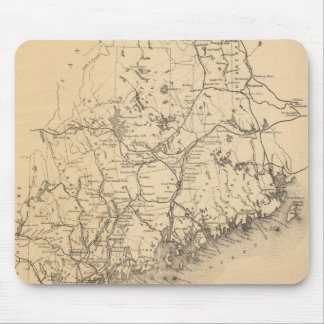 Vintage Map of Maine (1894) Mouse Pad