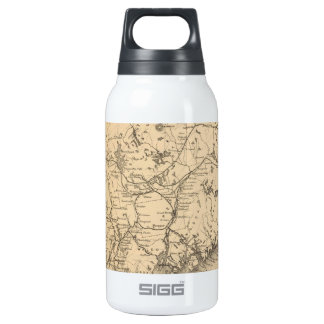Vintage Map of Maine (1894) Thermos Bottle