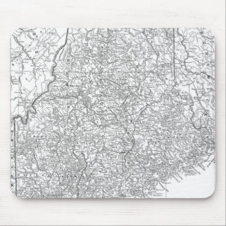 Vintage Map of Maine (1911) Mouse Pad