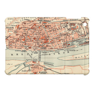 Vintage Map of Mainz Germany (1905) Cover For The iPad Mini