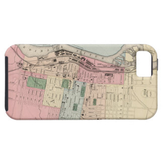 Vintage Map of Manchester New Hampshire (1877) iPhone 5 Cover
