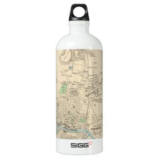 Vintage Map of Manchester NH (1892) SIGG Traveler 1.0L Water Bottle