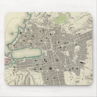 Vintage Map of Marseille France (1840) Mouse Pad