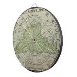Vintage Map of Marthas Vineyard (1913) Dart Boards