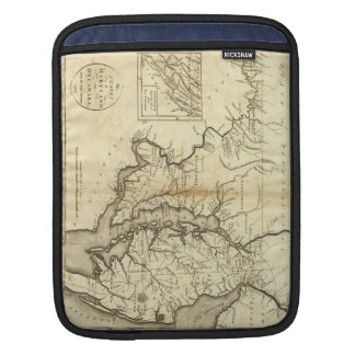 Vintage Map of Maryland (1796) Sleeve For iPads