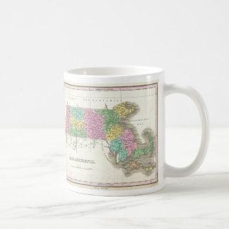 Vintage Map of Massachusetts (1827) Mugs