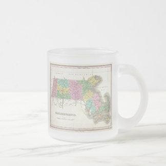 Vintage Map of Massachusetts (1827) Coffee Mug