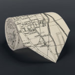 """Vintage Map of Memphis Tennessee (1911) Neck Tie<br><div class=""""desc"""">This is a vintage map of Memphis Tennessee produced in 1911.</div>"""