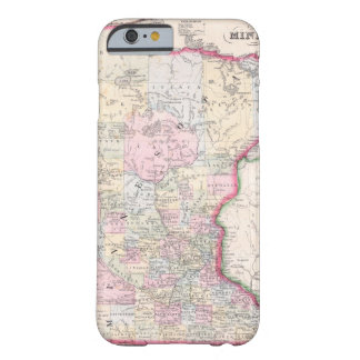 Vintage Map of Minnesota (1864) Barely There iPhone 6 Case