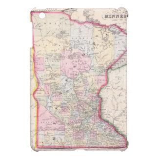 Vintage Map of Minnesota (1864) iPad Mini Cover