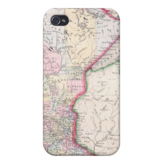 Vintage Map of Minnesota (1864) iPhone 4/4S Cases
