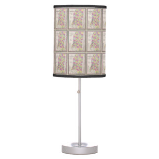 Vintage Map of Mississippi (1853) Table Lamp