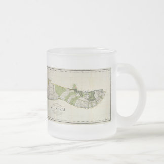 Vintage Map of Molokai Hawaii (1906) Coffee Mug