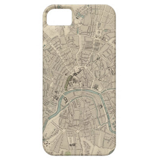 Vintage Map of Moscow (1836) iPhone SE/5/5s Case