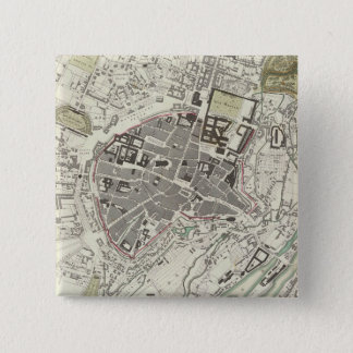 Vintage Map of Munich Germany (1832) Button