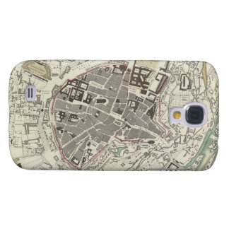 Vintage Map of Munich Germany (1832) Samsung Galaxy S4 Covers