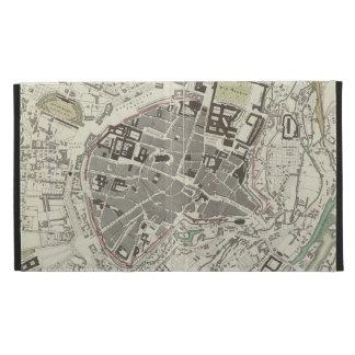 Vintage Map of Munich Germany (1832) iPad Folio Cases