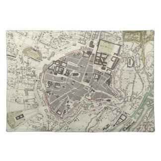 Vintage Map of Munich Germany (1832) Cloth Placemat