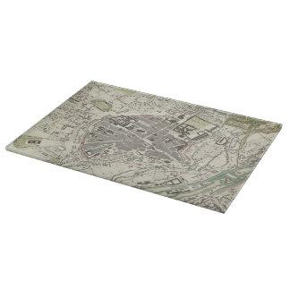 Vintage Map of Munich Germany (1832) Cutting Board