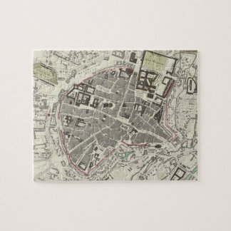 Vintage Map of Munich Germany (1832) Puzzle