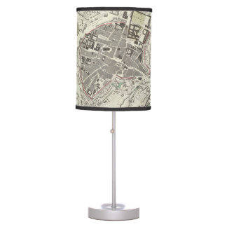 Vintage Map of Munich Germany (1832) Table Lamp