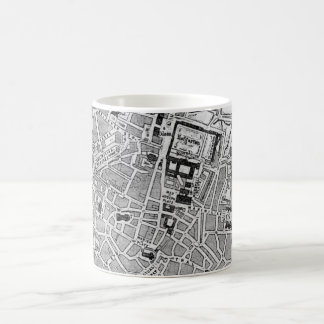 Vintage Map of Munich Germany (1884) Coffee Mug