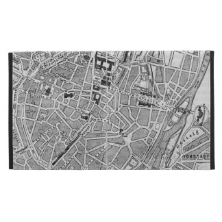 Vintage Map of Munich Germany (1884) iPad Cases