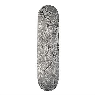 Vintage Map of Munich Germany (1884) Skateboard Deck